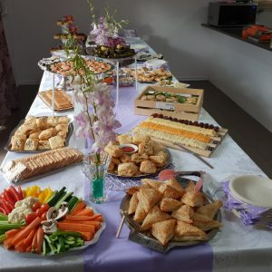 Baby naming catering and l'chaim catering Melbourne