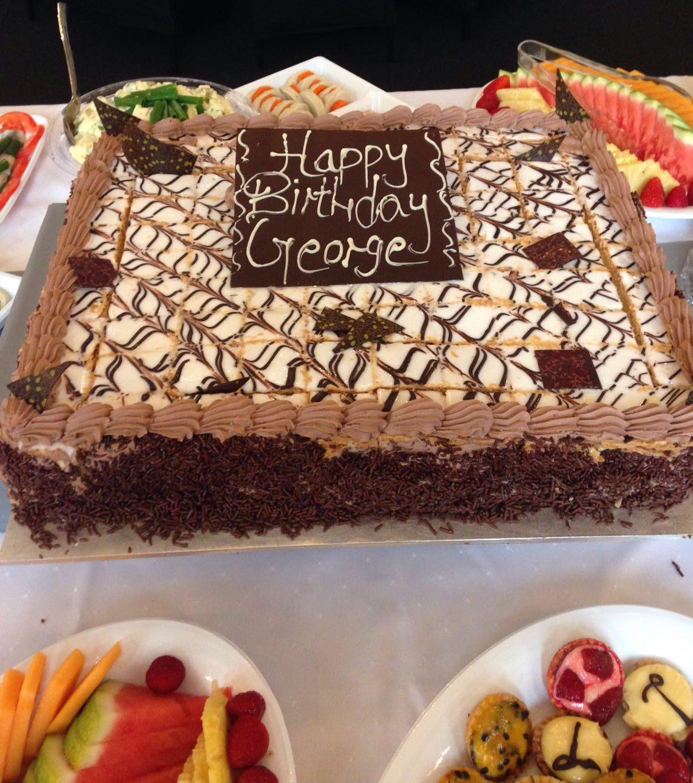 Vanilla Slice Cake Nifla Kosher Catering Melbourne
