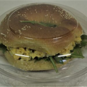 Kosher egg bagel